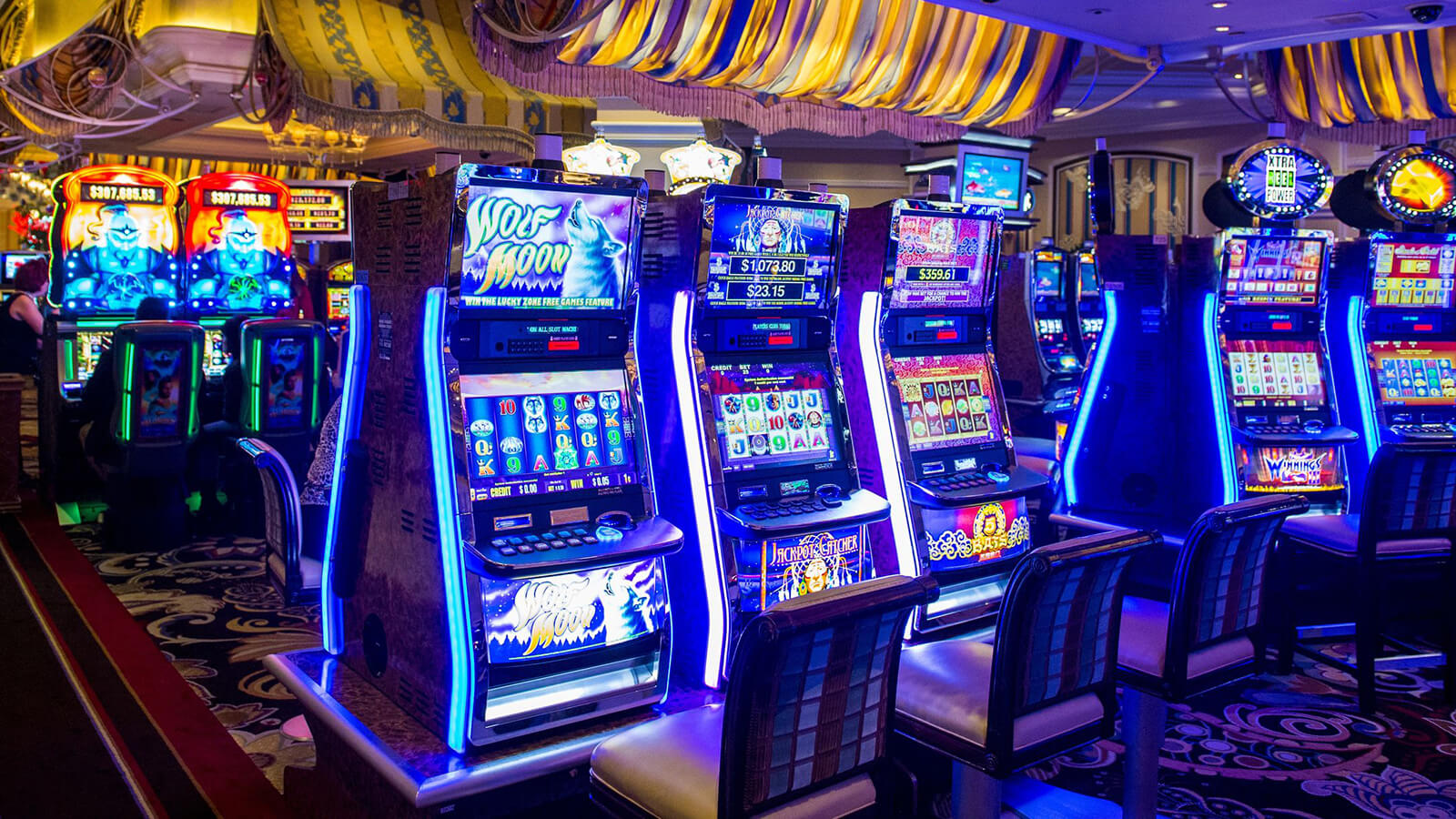 The best way to choose an online slot game site is a lot of bonuses
